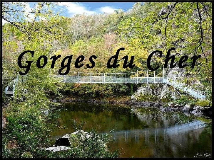 Gorges du Cher