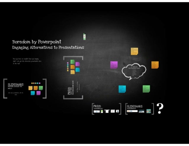 Boredom by Microsoft® PowerPoint Engaging Alternatives to Presentations - Course Technology Computing Conference