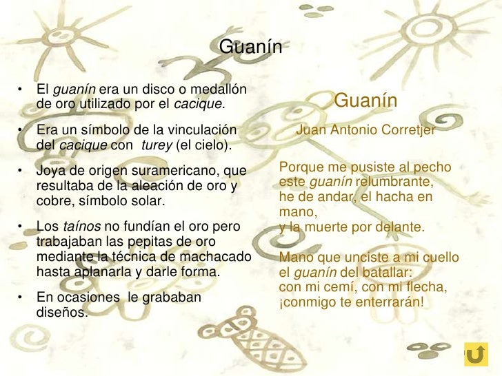 List Of Synonyms And Antonyms Of The Word Guanin Taino