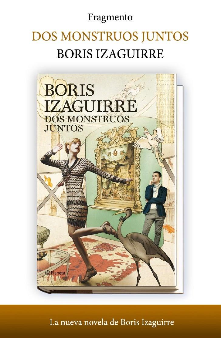 Boris IzaguirreDos monstruos juntos