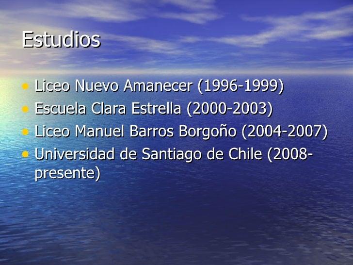 Boris Nicolás Carrasco Ortega Slide 3