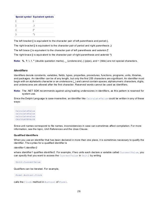 borland delphi delphi programming language guide rh slideshare net Embarcadero Delphi Review Delphi XE5 Windows 8