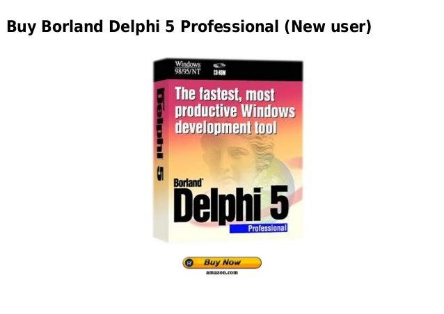 Buy Borland Delphi 5 Professional (New user)
