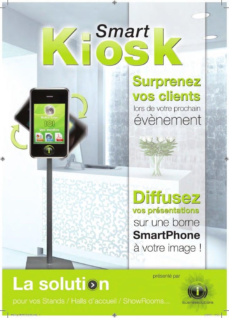 Mailing SMARTKIOSK.indd 1   13/09/11 14:21