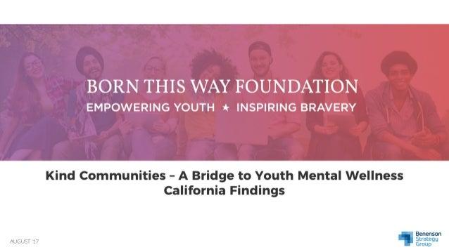 A Bridge To Mental Wellness In California