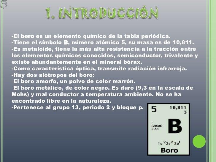 Boro 3 728gcb1299841838 opinin personalbr 3 1 introduccinbr el boro es un elemento qumico de la tabla peridica urtaz Gallery