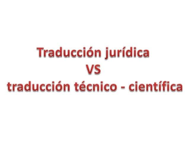 Traducción Especializada               Traducción                 Jurídica               Conocimiento  Traducción         ...