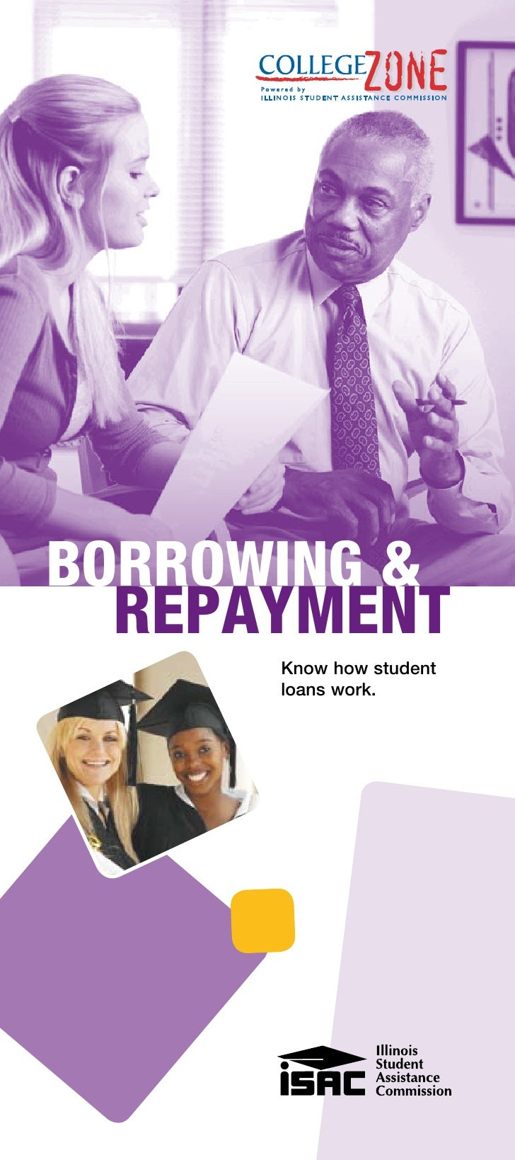 BORROWING &  REPAYMENT       Know how student       loans work.