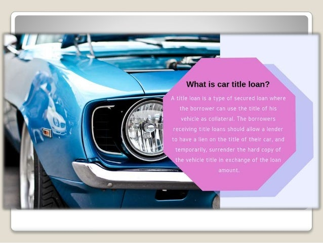 Borrow up to $25000 with yout auto title Slide 3