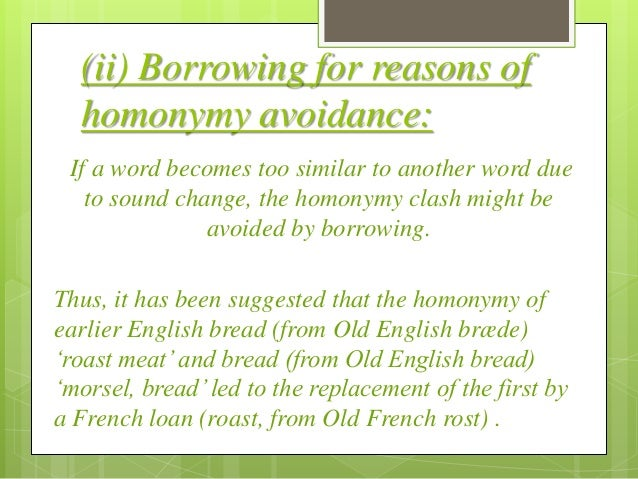 Borrowing and its types