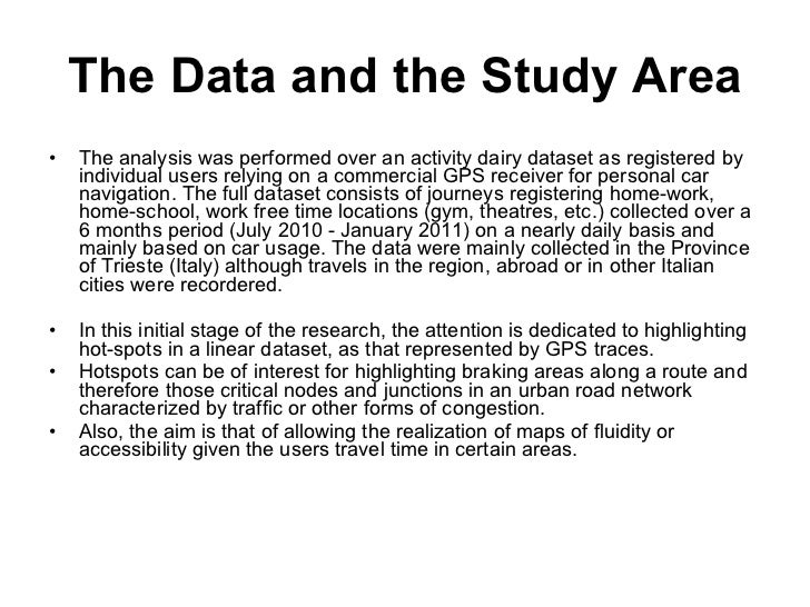Individual movements and geographical data mining