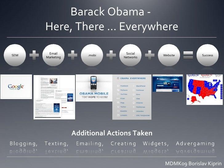 Obama's Online Campaign Slide 2