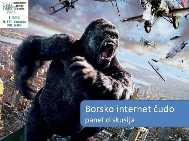 Borsko internet  čudo panel diskusija