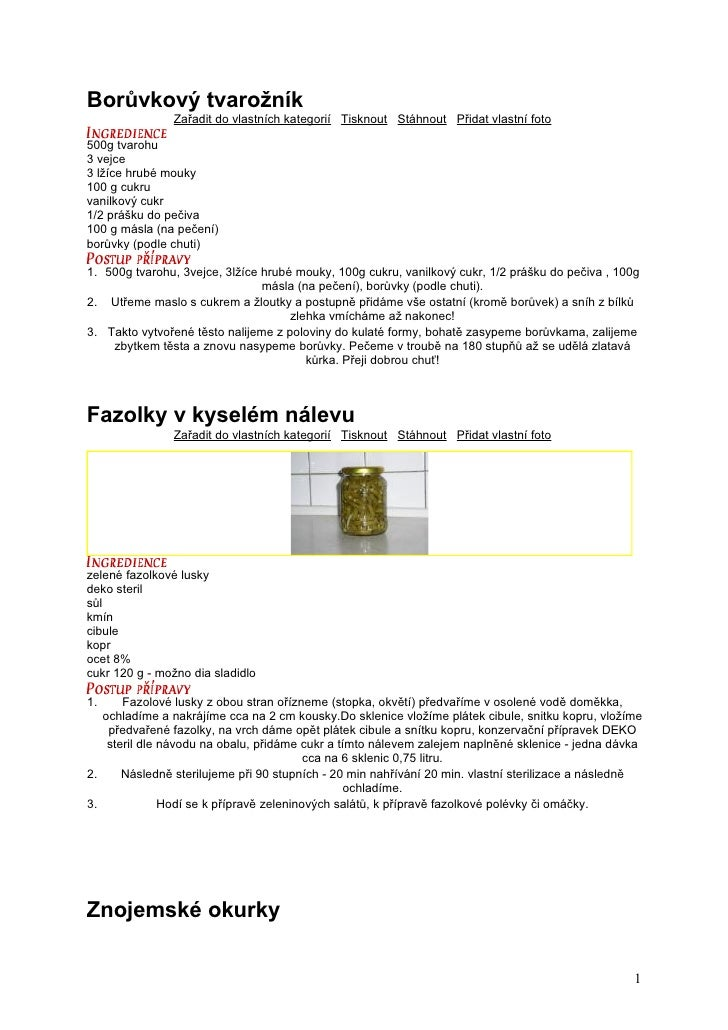 Borůvkový tvarožník               Zařadit do vlastních kategorií Tisknout Stáhnout Přidat vlastní foto500g tvarohu3 vejce3...