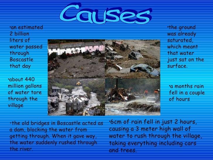 Boscastle Floods, 2004