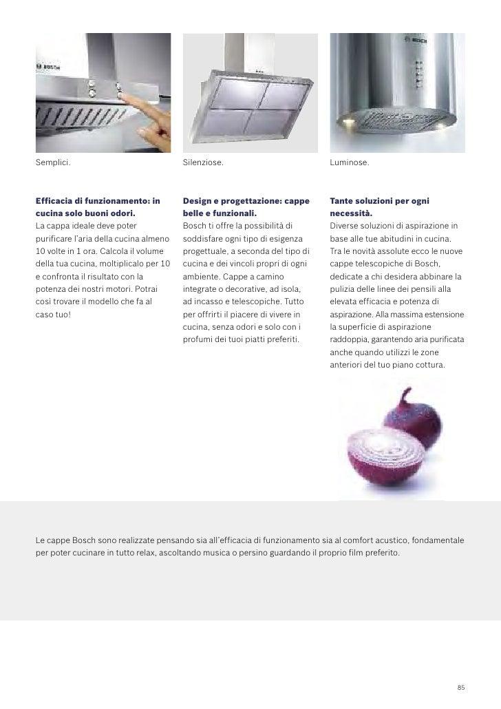 Bosch Catalogo Cappe 2009