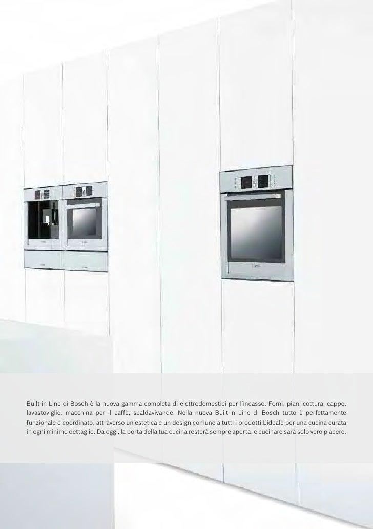 Emejing Cucine Bosch Catalogo Contemporary - Ideas & Design 2017 ...