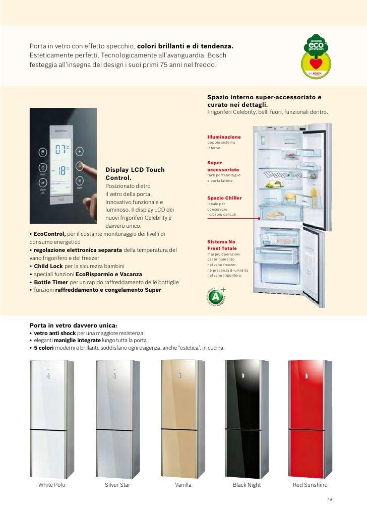 Bosch Catalogo Frigoriferi