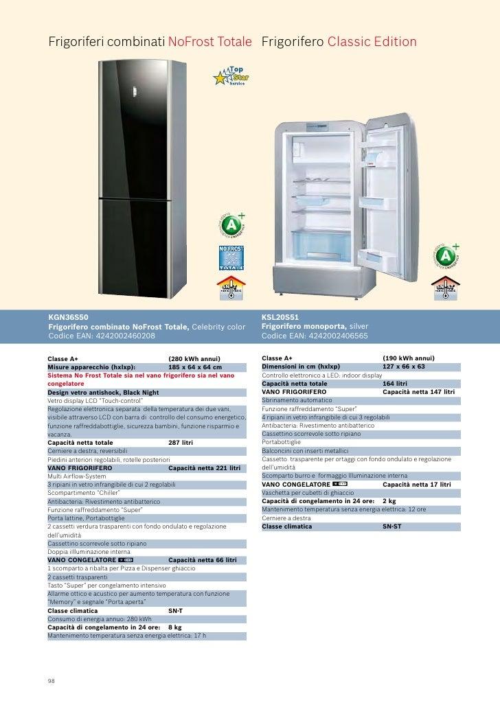 Bosch catalogo frigoriferi - Frigoriferi monoporta senza congelatore ...
