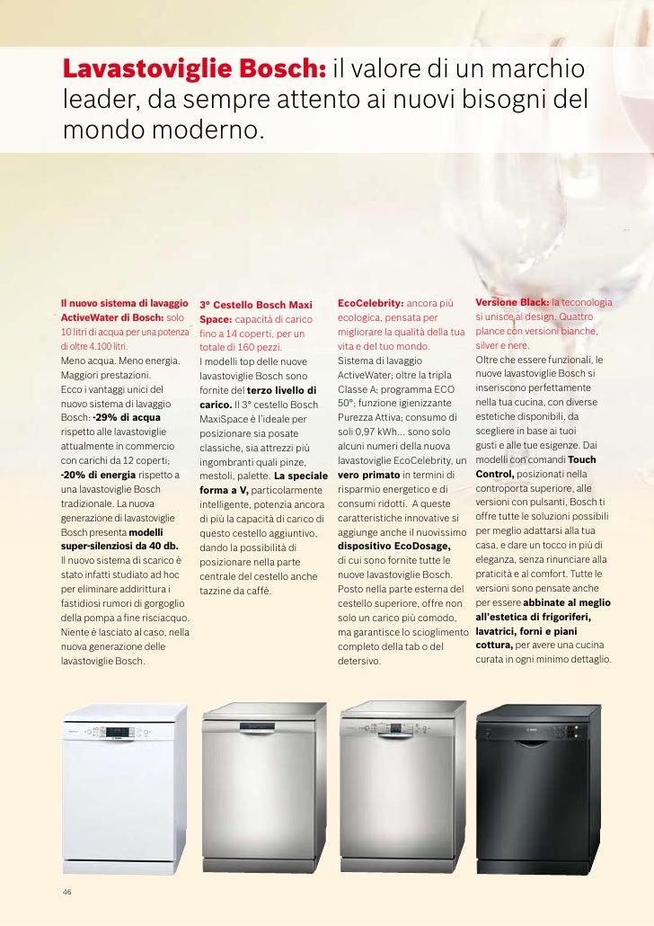 Bosch Catalogo Lavastoviglie