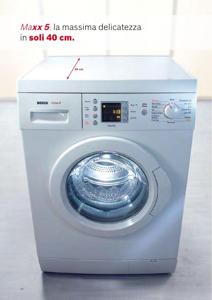 Bosch catalogo lavatrici for Bosch lavasciuga