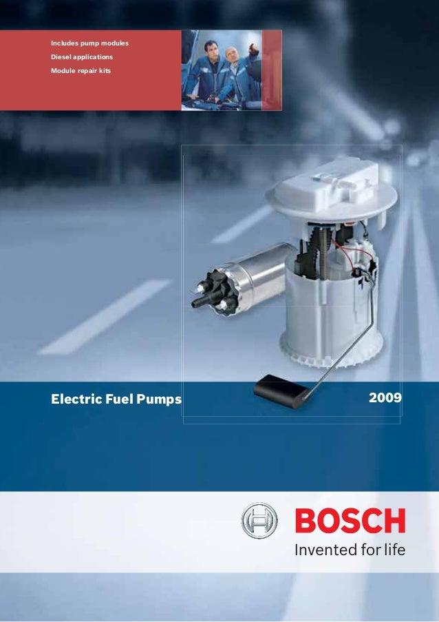 Mercedes R107 W116 W123 W124 W126 W201 380SLC 380SEC 260E 300SE Bosch Fuel Pump