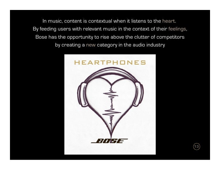 Bose Heartphones - Product Development