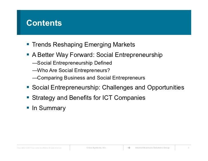 emerging trends in entrepreneurship