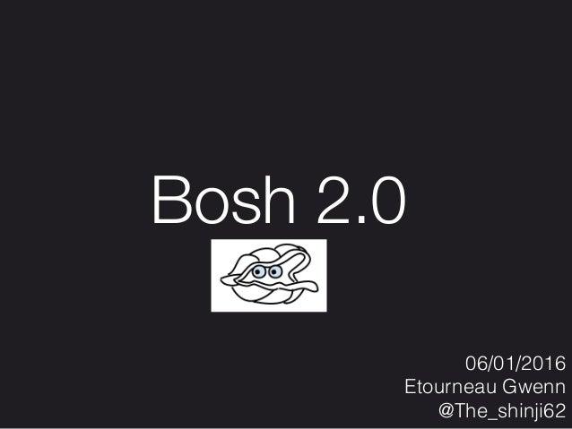 06/01/2016 Etourneau Gwenn @The_shinji62 Bosh 2.0