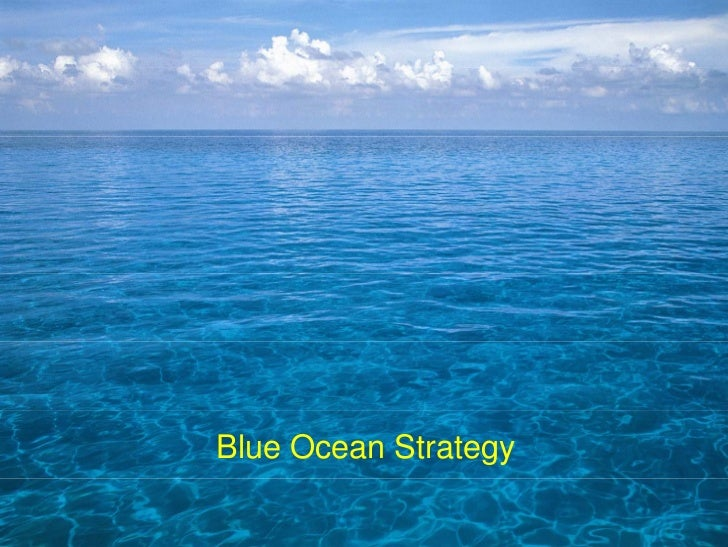 Introduction to applied blue ocean strategy