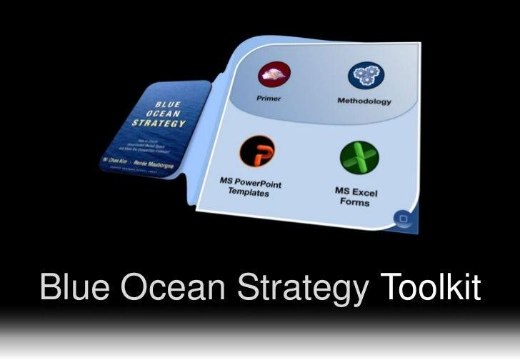 Blue Ocean Strategy Toolkit                       www.straligence.com   -1-