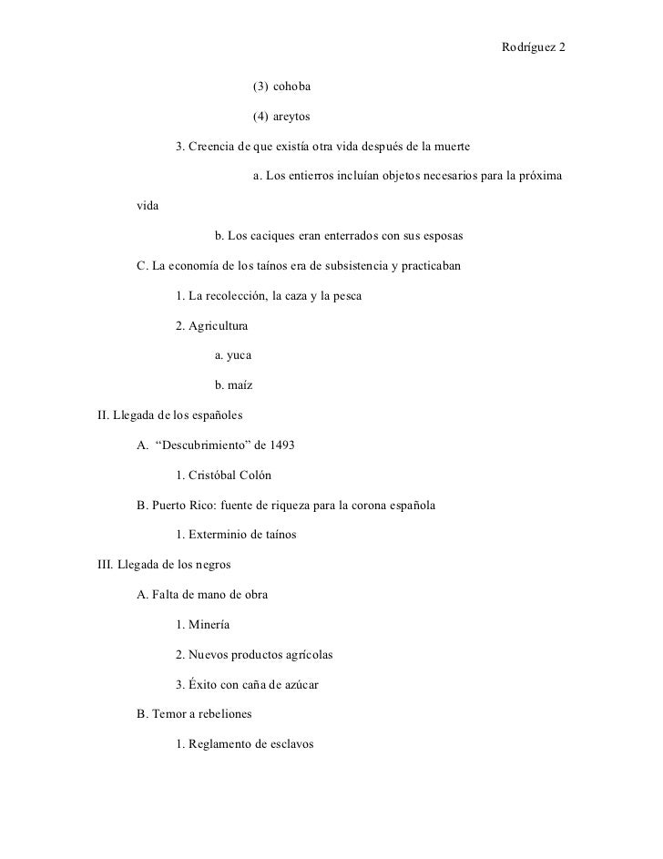 Rodríguez 2                                (3) cohoba                                (4) areytos               3. Creencia...