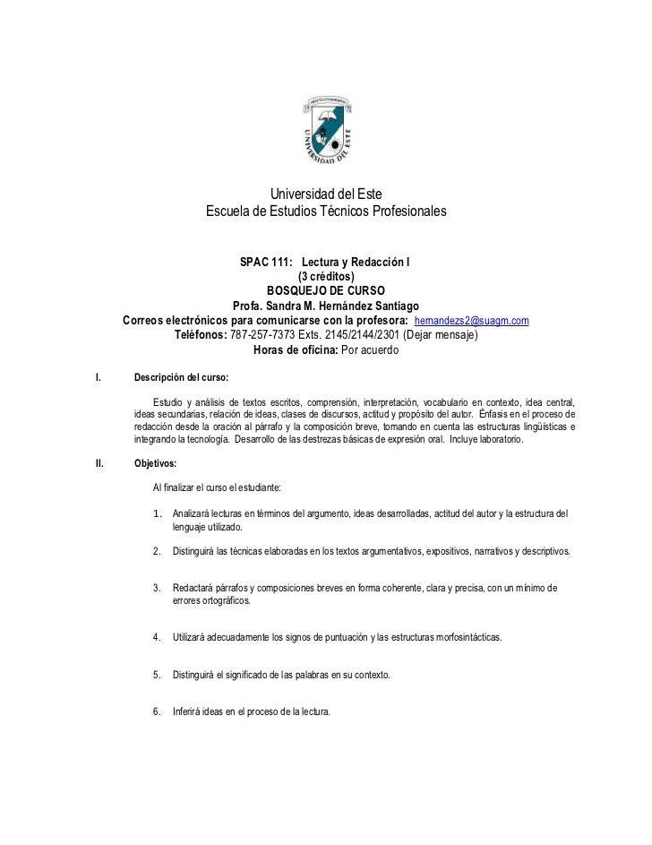 Universidad del Este                          Escuela de Estudios Técnicos Profesionales                             SPAC ...