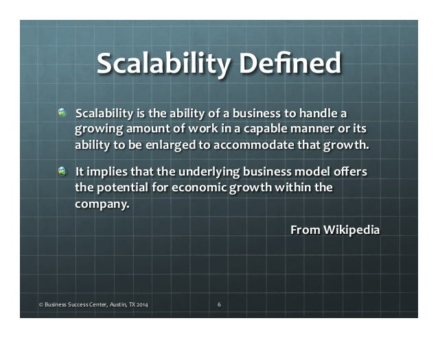 What 3 Business Models are Scalable