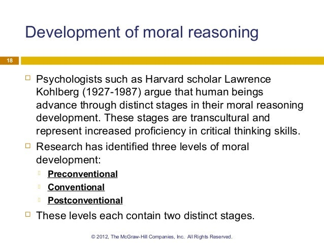 6 Stages of Moral Reasoning Essay