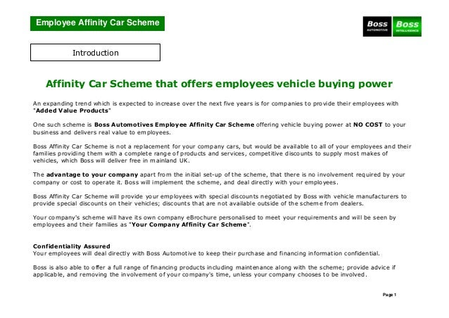 Boss Affinity Car Scheme 2014 3107