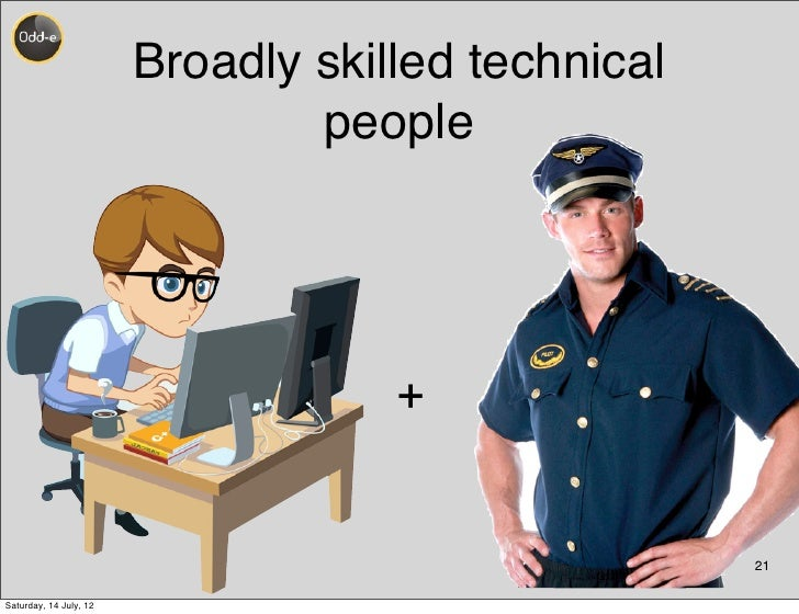 Broadly skilled technical                                people                                    +                      ...