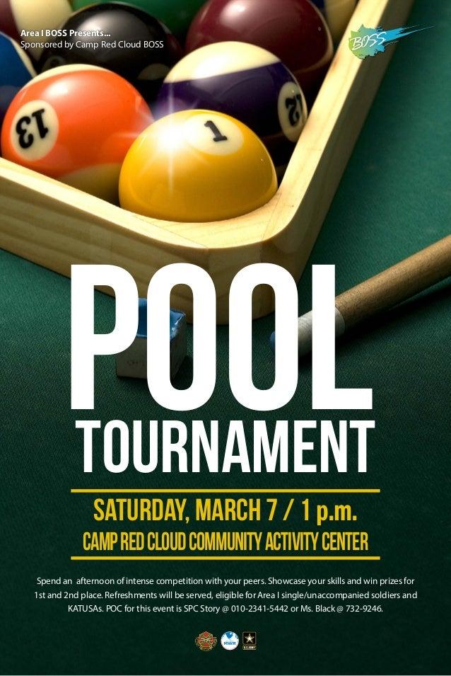 Boss Pool Tournament