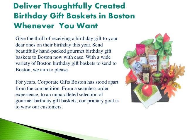 Birthday Gift Baskets In Boston 2