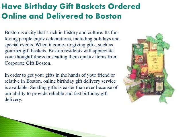 Birthday Gift Baskets To Boston 4