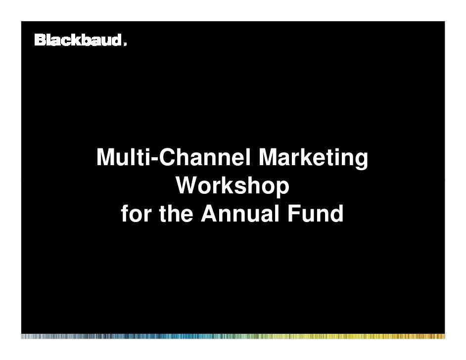 Higher Ed Forum in Boston 92210 Multi Channel Marketing