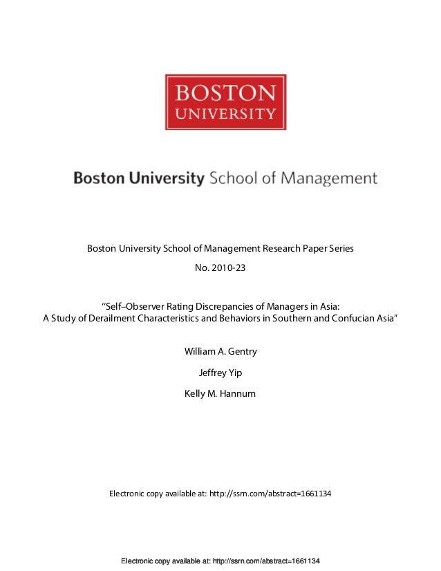 Boston University School of Management Research Paper Series                                         No. 2010-23          ...