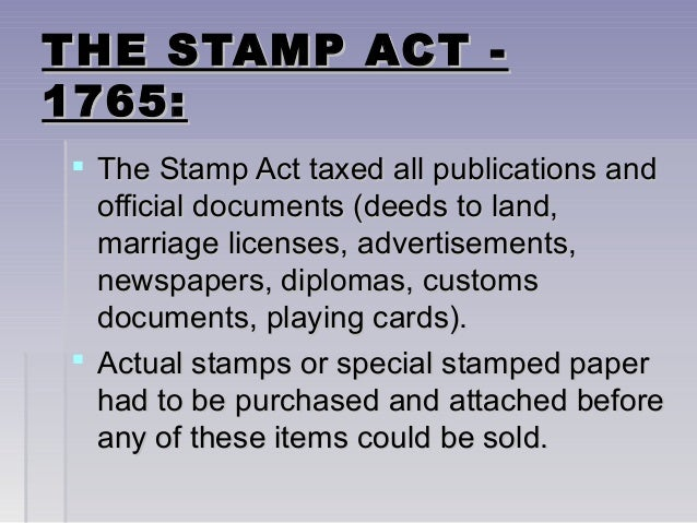 the stamp act crisis essay