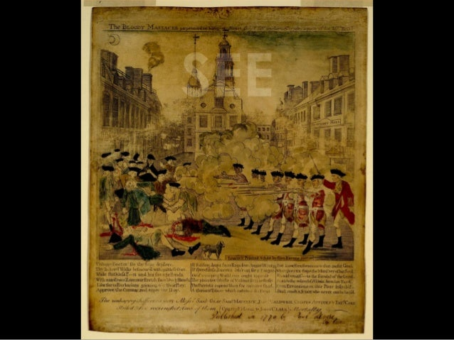 The Boston Massacre - SEE THINK WONDER
