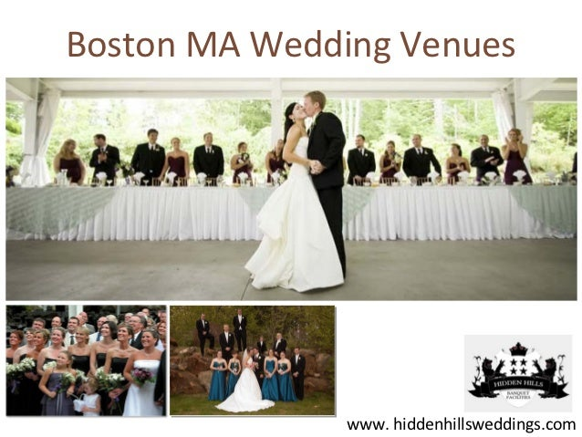 Boston MA Wedding Venues              www. hiddenhillsweddings.com