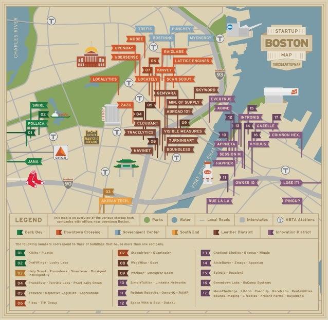 Boston Startup Map