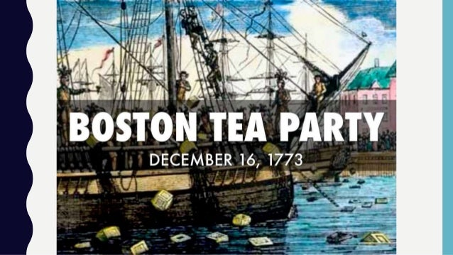 Case Study - Boston Tea Party