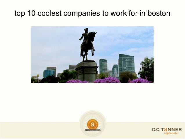 top 10 coolest companies to work for in boston