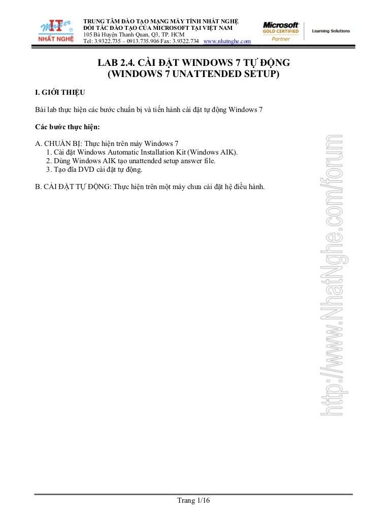 TRUNG TÂM ĐÀO TẠO MẠNG MÁY TÍNH NHẤT NGHỆ               ĐỐI TÁC ĐÀO TẠO CỦA MICROSOFT TẠI VIỆT NAM               105 Bà Hu...
