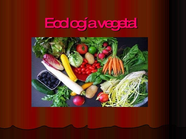 Ecología vegetal